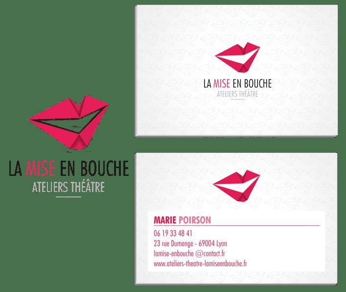 Création de logos, création de carte de visite, graphiste lyon