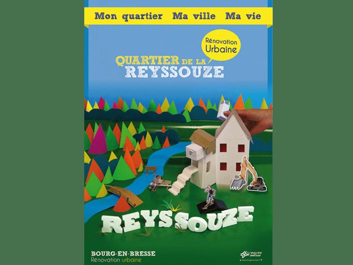 création graphique pour Bourg-en-Bresse