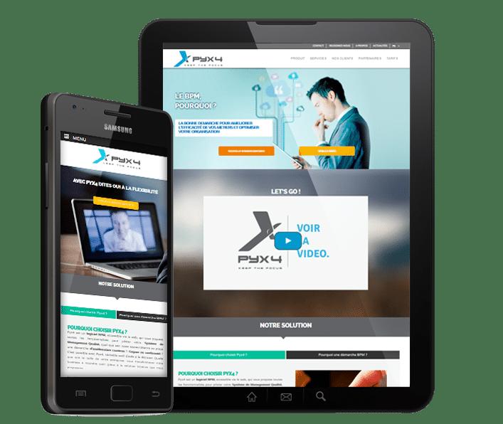 création de site internet responsive, webdesigner free-lance à lyon