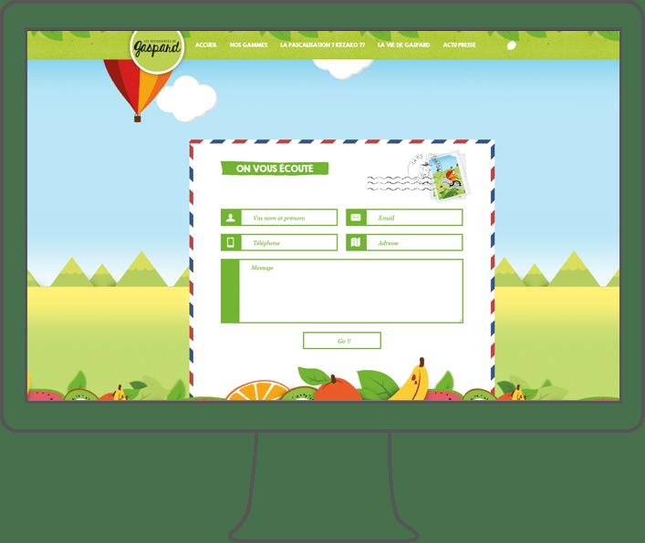 création site internet Gaspard
