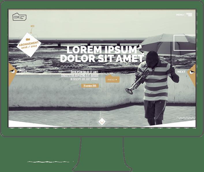 Création site internet, webdesigner lyon, intégrateur lyon